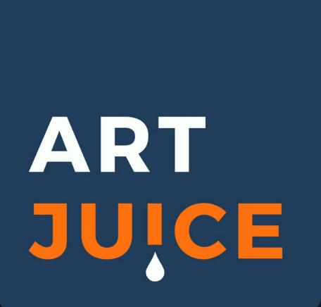 podcasts logo art juice