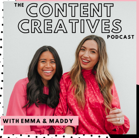 podcasts logo the content creatives